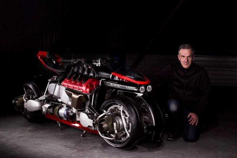 Летающий мотоцикл-трансформер выпустят только в 5 экземплярах: можно купить, если есть лишние $ 500 000