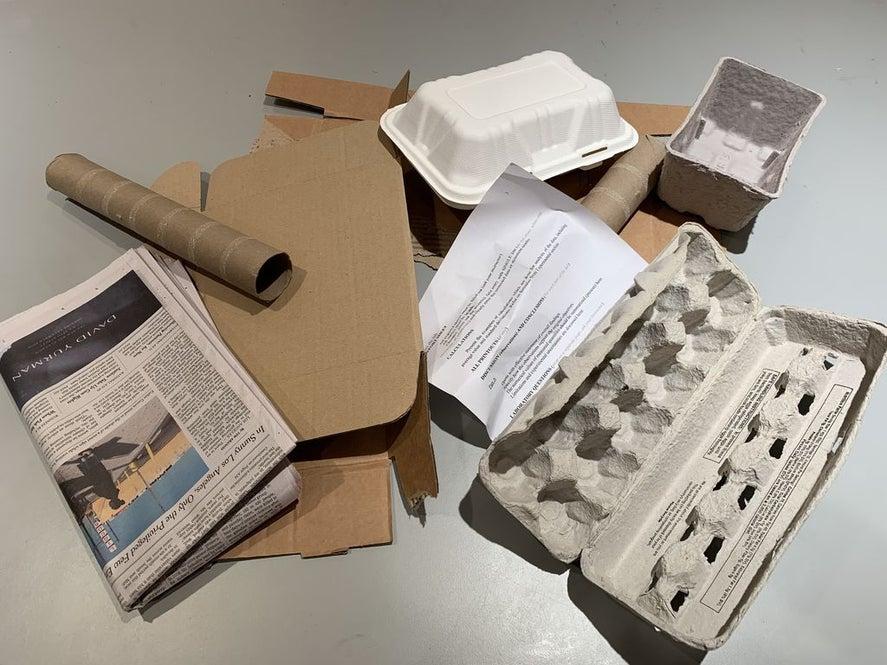 Моя соседка не выбрасывает картон, контейнеры для яиц, газеты, а делает из них оригинальные вещи для дома