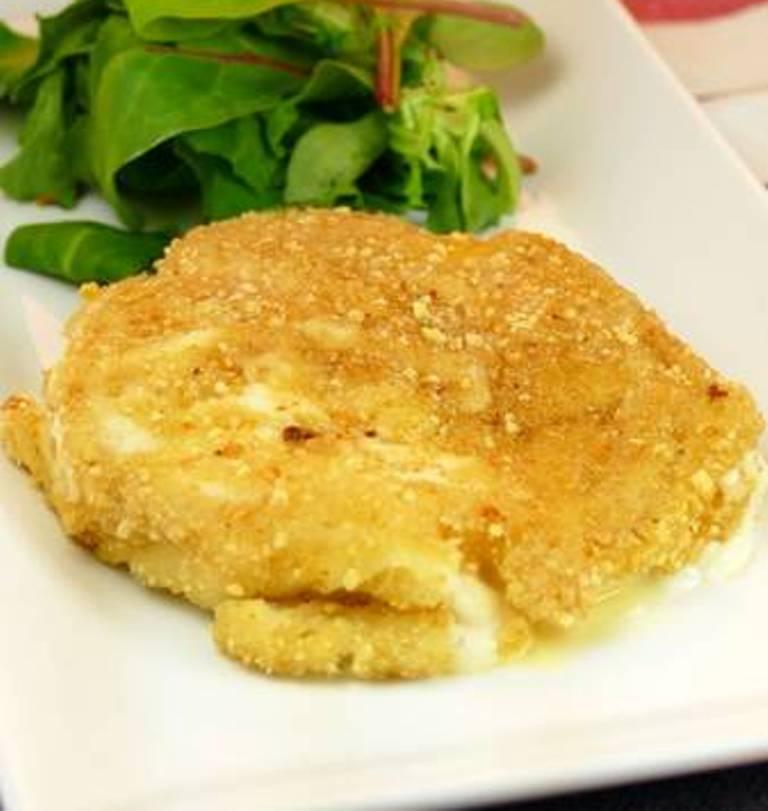 Альтернатива банальной яичнице: когда хочется чего то необычного, готовлю на завтрак яйца в ореховой панировке (без глютена)