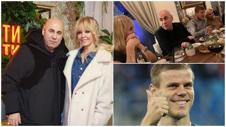 Скандальный футболист Александр Кокорин проводит время в Дубае в обществе Валерии, Пригожина и Егора Крида
