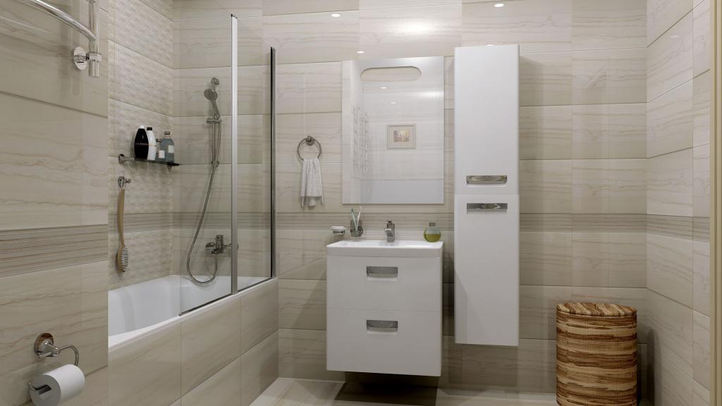 Монохромный стиль и плитка большего размера: нюансы, которые сделают внешний вид ванной более дорогим