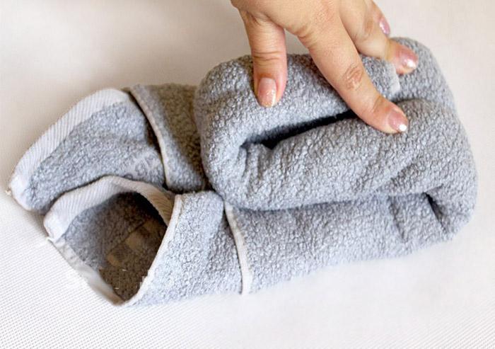 Всегда хотела научиться делать лебедей из полотенец. Подруга горничная показала самый простой способ
