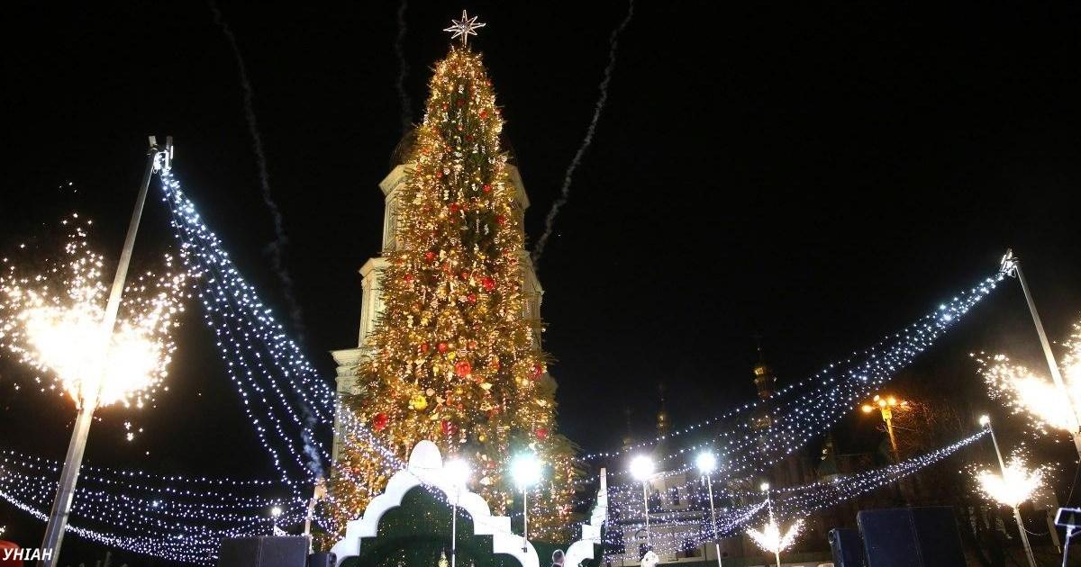 Киевская ёлка вошла в ТОП-5 новогодних ёлок Европы