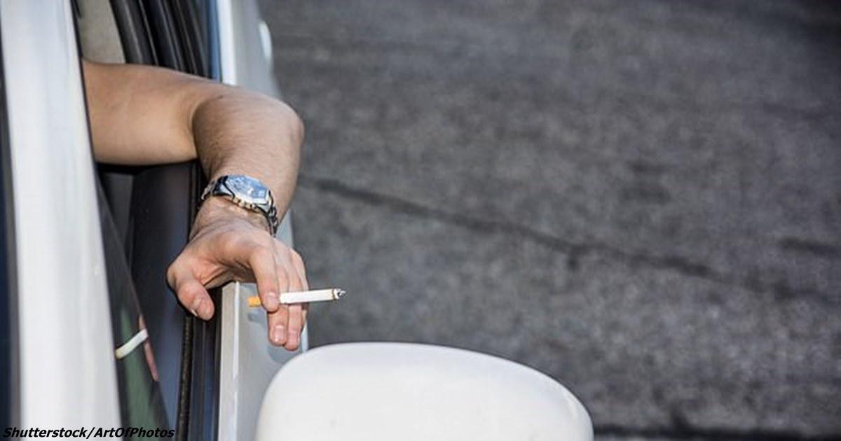 За выброшенный из автомобиля бычок в Австралии штрафуют на  USD 11 000