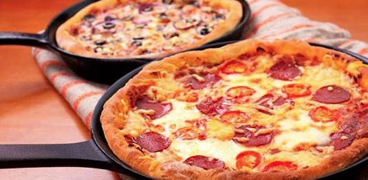 Идеальная пицца на сковородке: быстро и очень вкусно