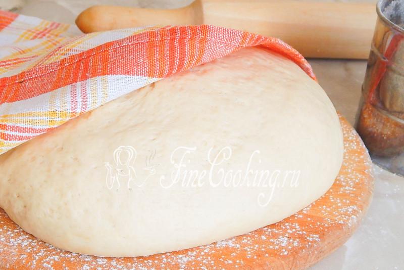 Универсальное дрожжевое тесто без яиц и молока. Мое любимое!