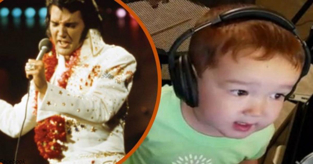 2-летний Дэниел взял в руки папин микрофон: и все растаяли