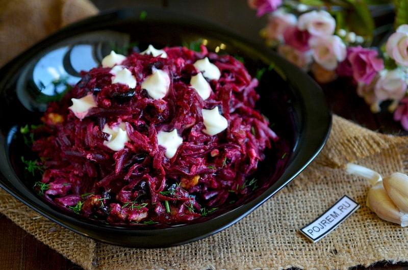 Такой салат со свеклой вы еще не готовили! Сочный, вкусный, пикантный салат