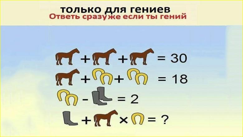 Эту задачу способен решить только гений
