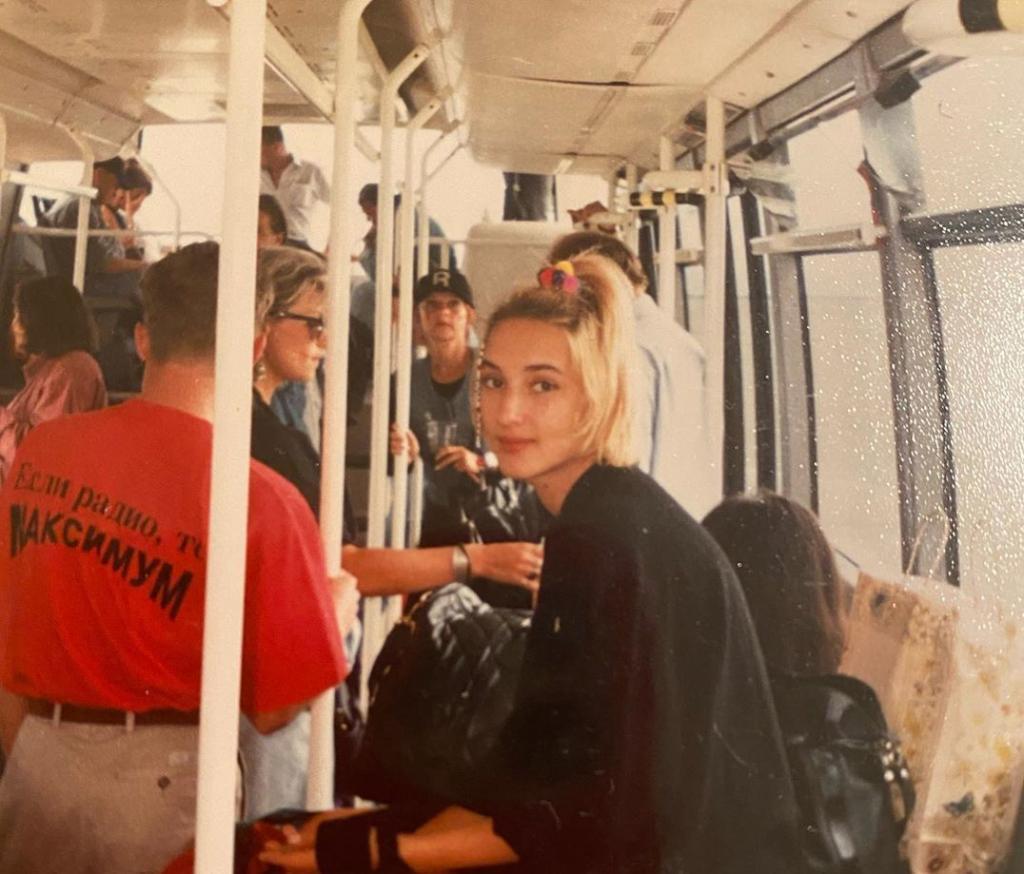 25 лет назад: Лера Кудрявцева выложила в «Инстаграм» редкие архивные фото