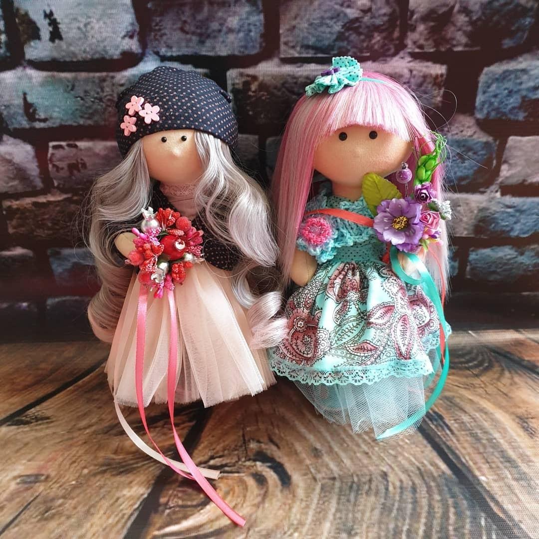 История популярной куклы Снежинка