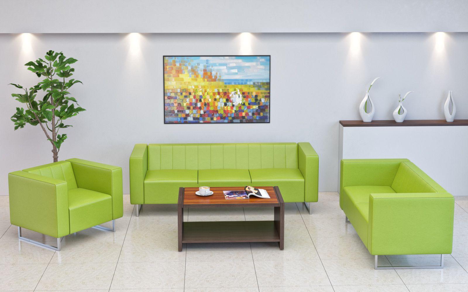 Диван - обязательный атрибут офисной мебели