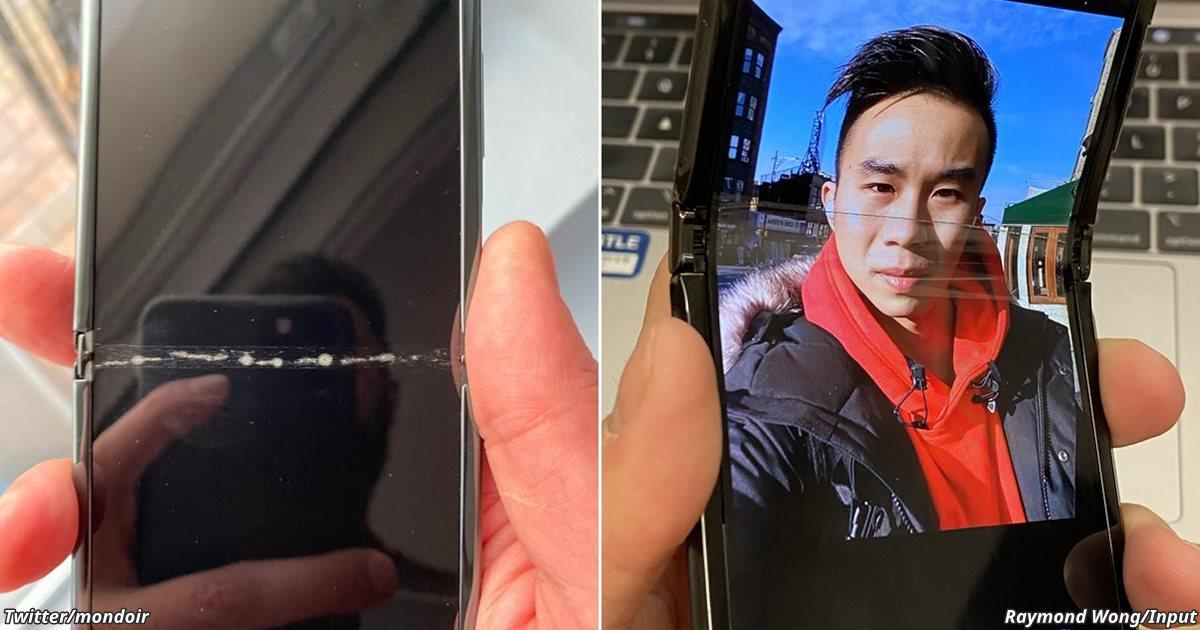 Складные мобильники от Samsung и Motorola уже выходят из строя!