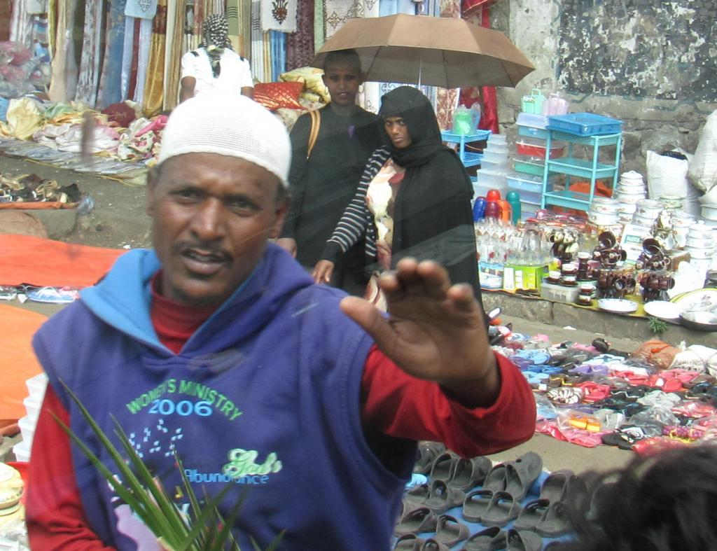 Эфиопы всегда рады российским туристам: но когда те достают фотоаппараты, случается замешательство