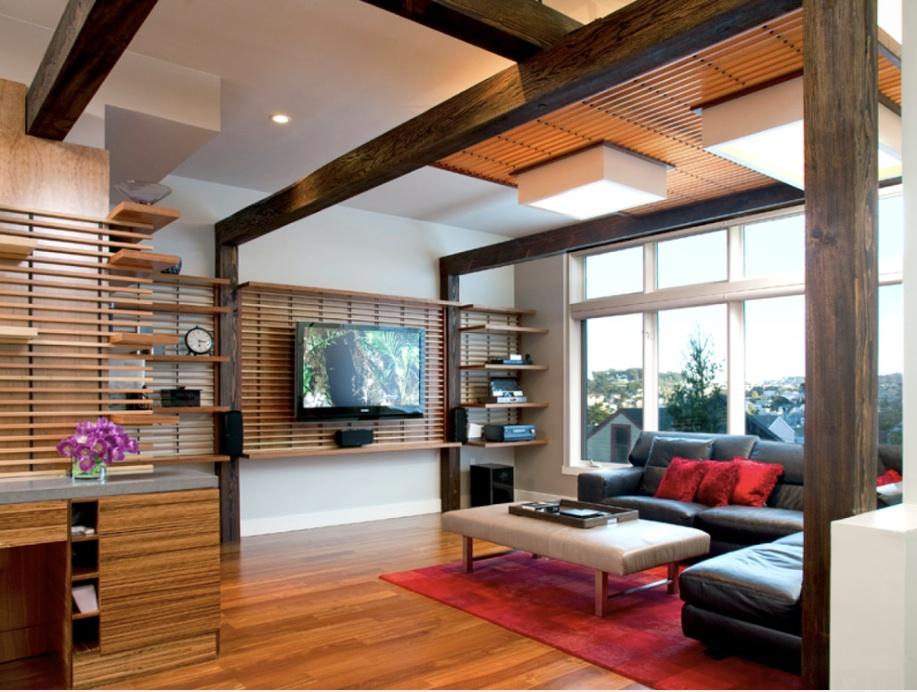Создать японскую атмосферу дома очень просто: прямые линии, натуральное дерево и много света