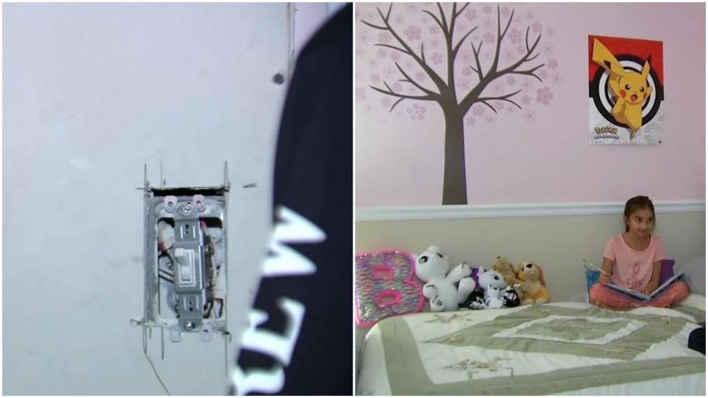 Иллинойс: стена в спальне 9-летней девочки годами принимает радиосигналы. Никто не знает, почему