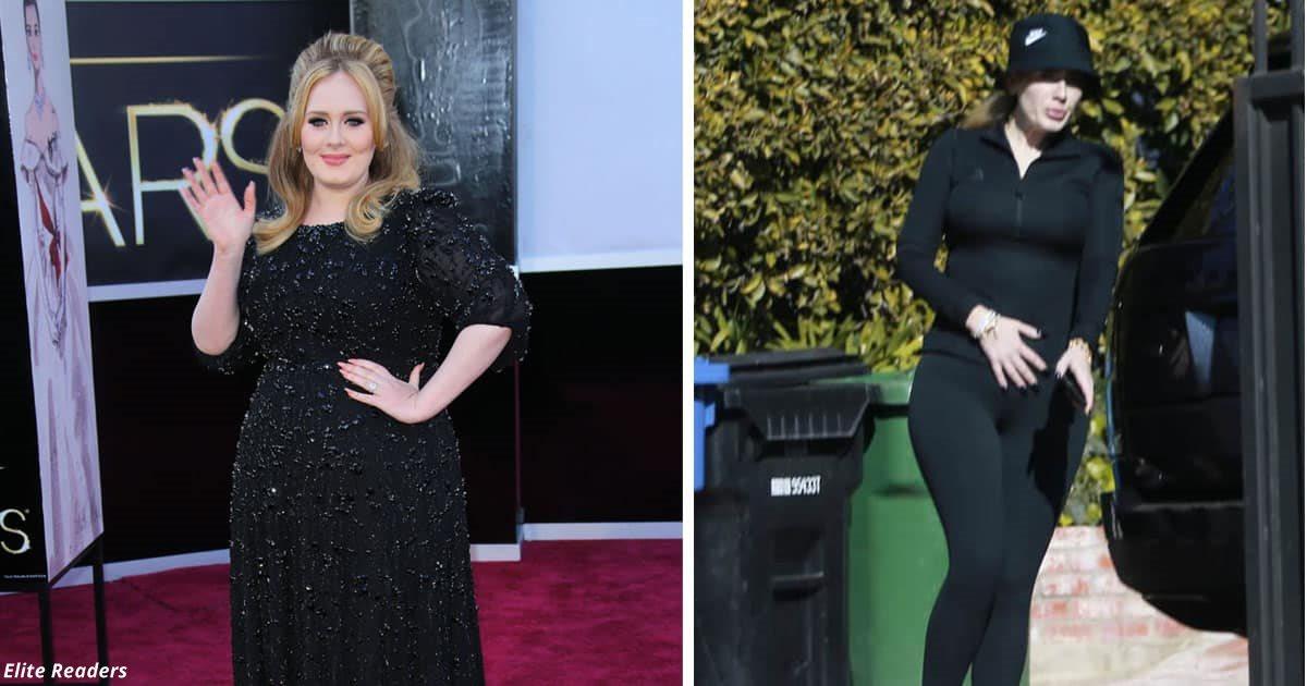 Певица Адель похудела на 40 килограмм — и привлекла внимание Брэда Питта