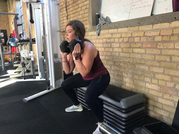 Сидни Вольф с детства боролась со своим весом: тренируясь 6 раз в неделю, она потеряла более 50 кг