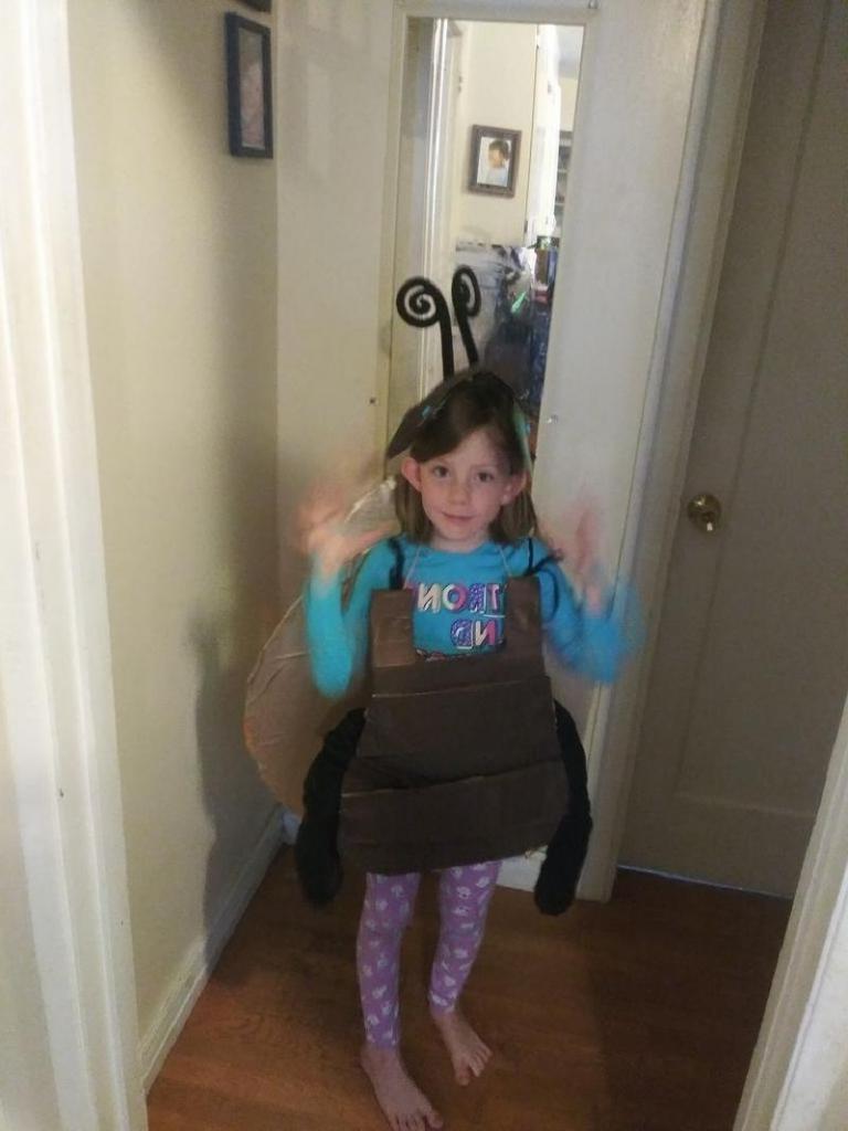 На детский утренник сделала для ребенка костюм майского жука: пошаговая инструкция