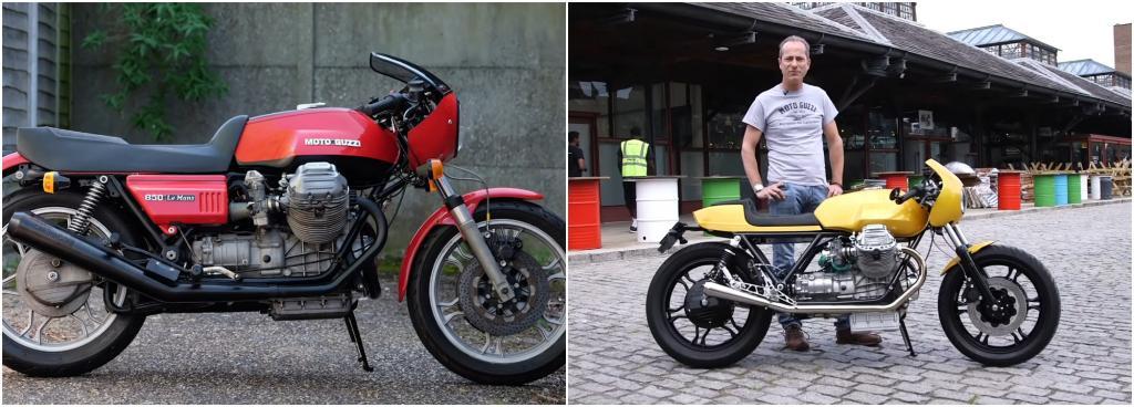 Пол купил свой байк Moto Guzzi, чтобы восстановить, но в итоге обновил его до каждого болтика