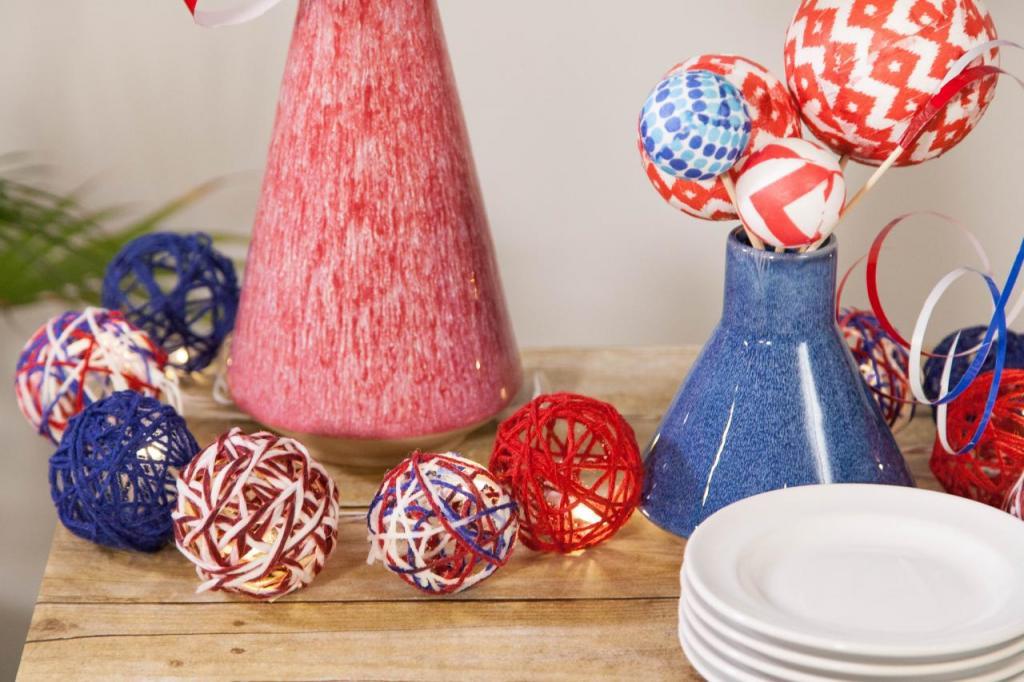 Несколько очень бюджетных способов, как создать красивый декор для праздника своими руками