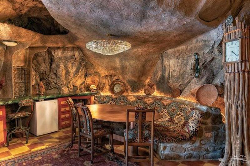 Вы могли бы жить в пещере? Аризонский дом наполовину находится в выдолбленной скале