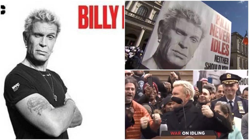 «Заглуши двигатель!»: рокер Билли Идол – лицо новой кампании против загрязнения воздуха