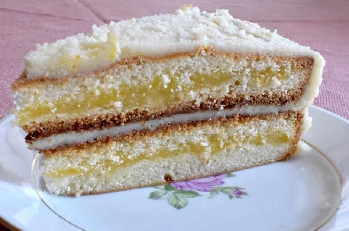 Лимон внутри и снаружи: простой, но любимый рецепт абсолютно лимонного торта