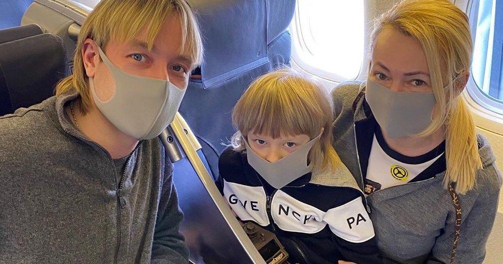 Яна Рудковская сообщила, что она и Плющенко терпят финансовые убытки из-за коронавируса