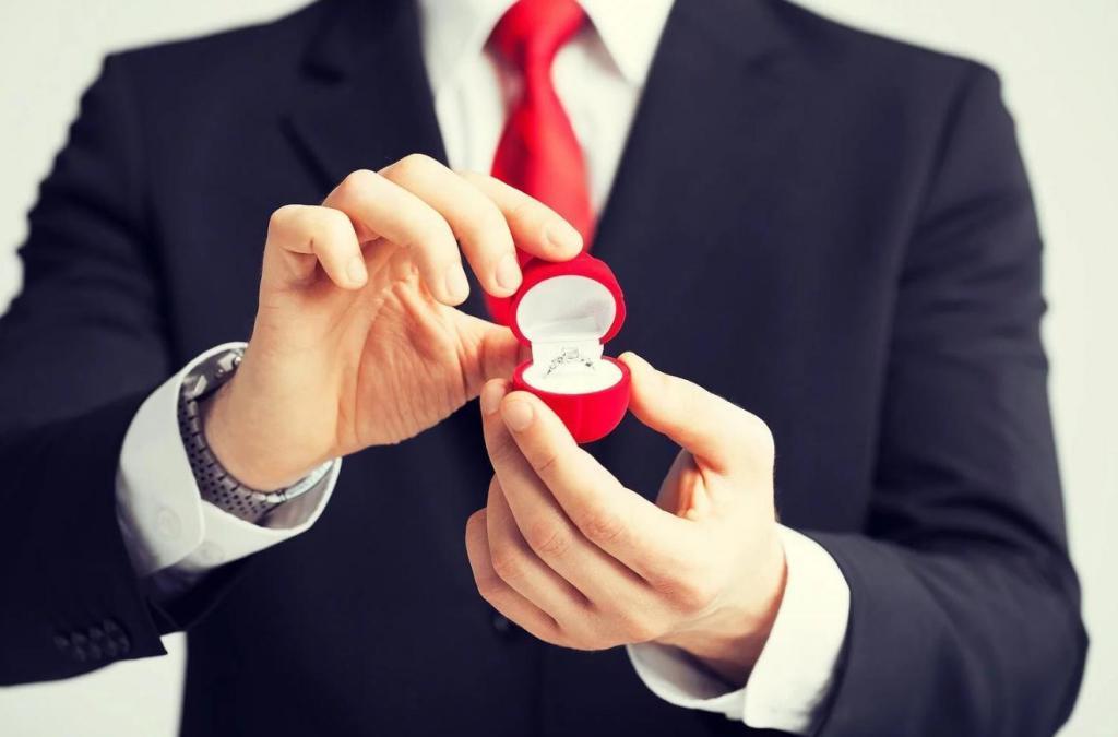 Ухажер подарил мне кольцо с бриллиантом. Взяв карандаш и бумагу, я поняла, что камень - подделка