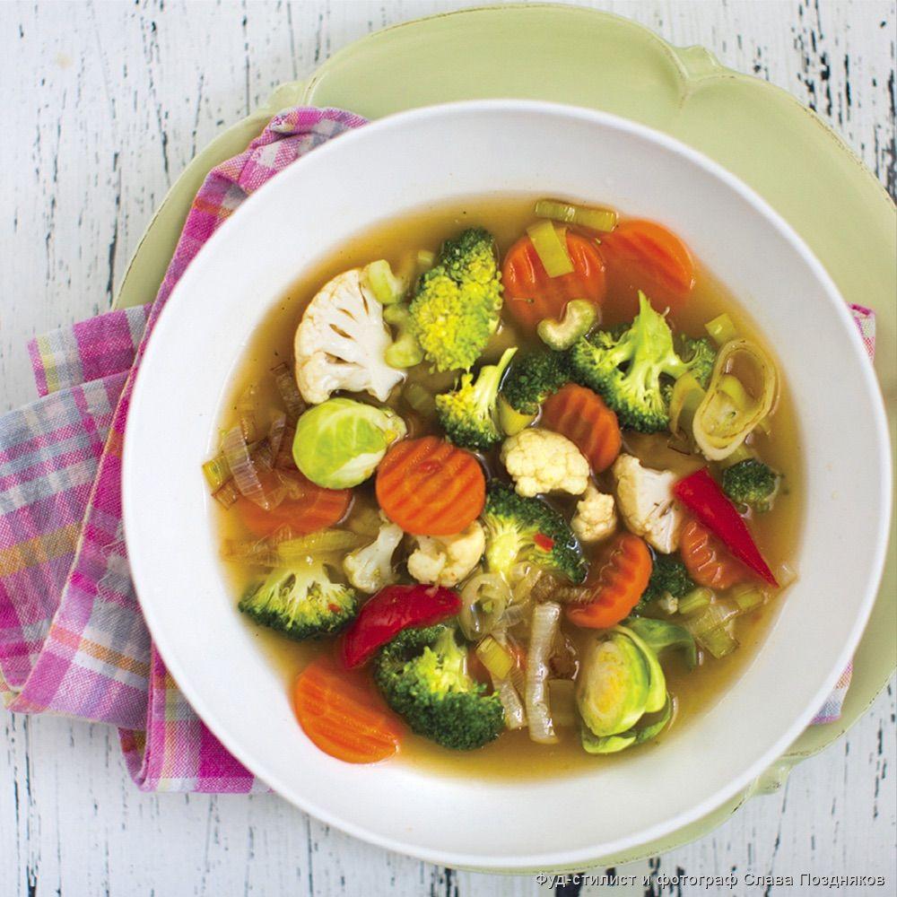 Хотите суп с хрустящими овощами? Меняем порядок приготовления: простой лайфхак