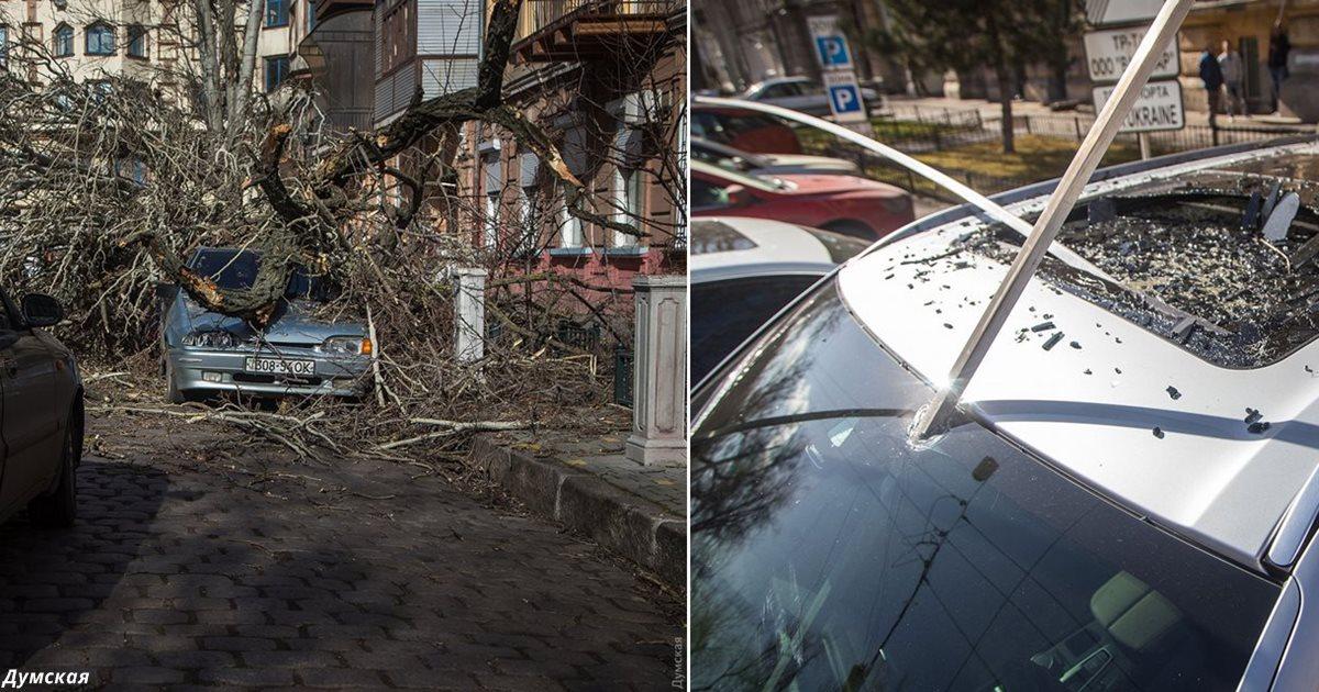 На Одессу обрушился шторм Юля. Вот последствия