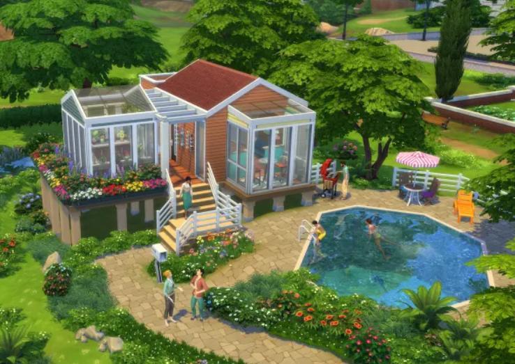 Игра The Sims провела конкурс на самый живописный домик: лучшие работы удивили даже самых опытных геймеров