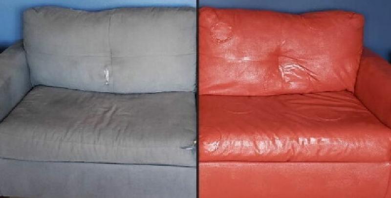 Покупка новой мебели откладывается: взяла меловую краску и отреставрировала старый диван