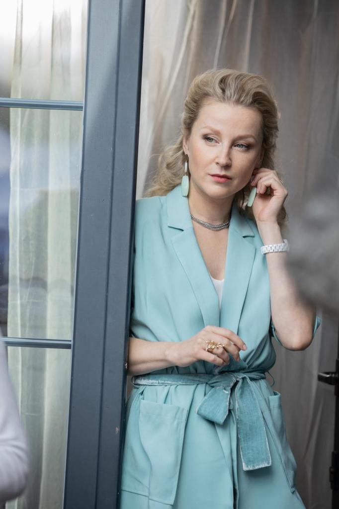 Ольга Медынич пошутила по поводу характера своей героини в сериале «Война семей»
