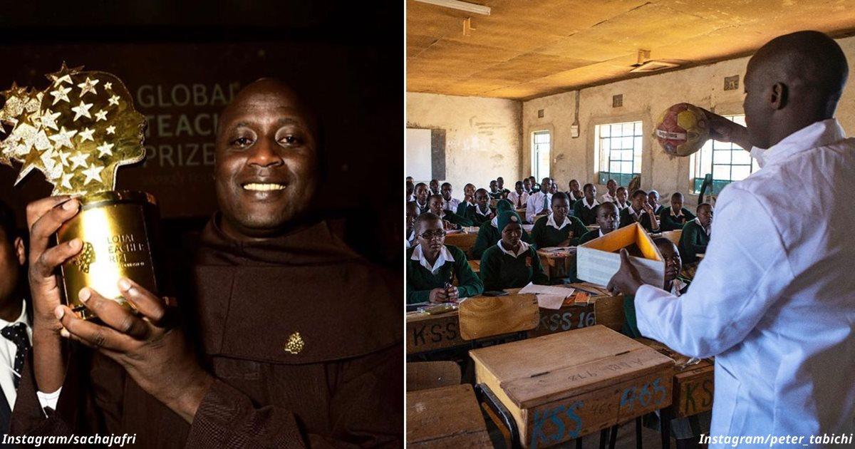 Учитель из деревни в Африке признан лучшим в мире — и получит  млн