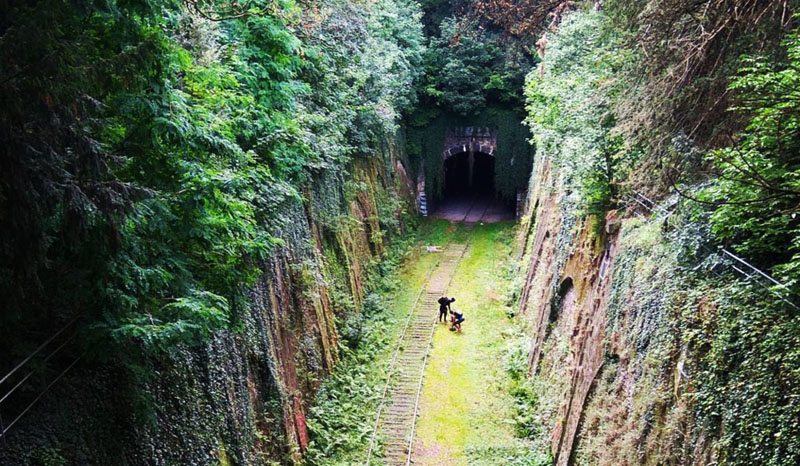 Новое увлечение туристов – исследование старой железной дороги вокруг Парижа