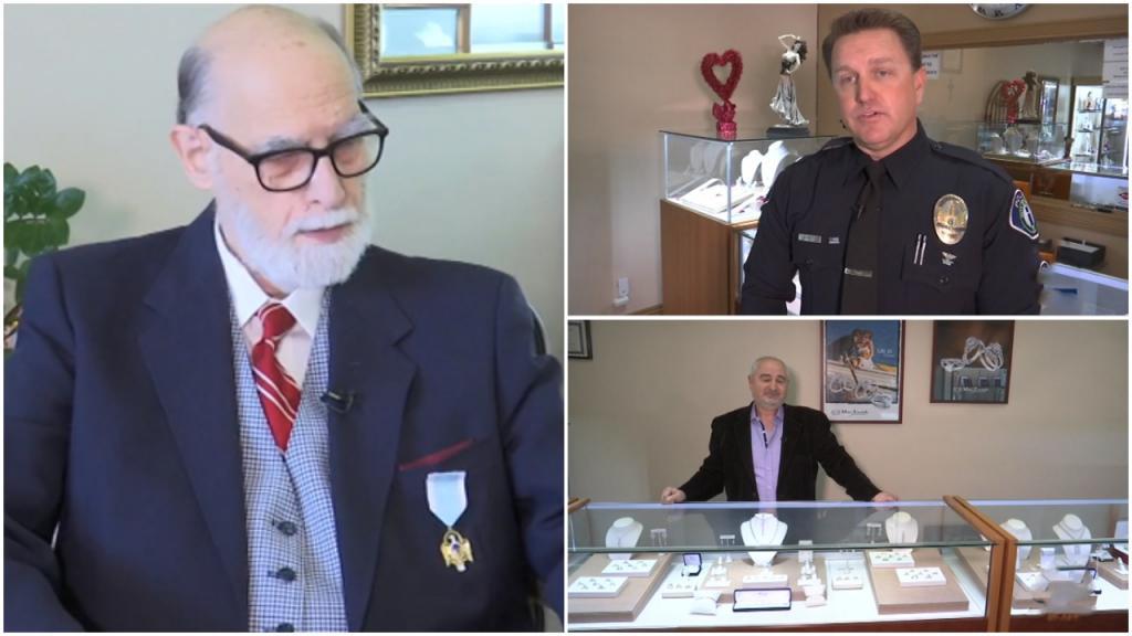Ветеран армии потерял обручальное кольцо: полицейский и ювелир сделали мужчине незабываемый подарок
