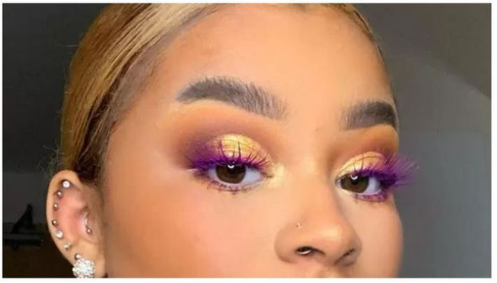 Визажист из Вашингтона Лорен Браун вывела макияж на новый уровень, сделав ресницы цветными