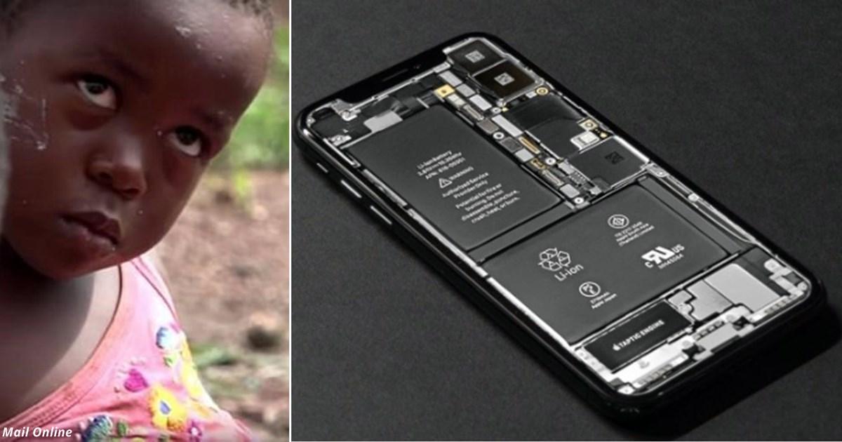 4-летние дети живут и работают в аду, чтобы вы могли пользоваться аккумуляторами