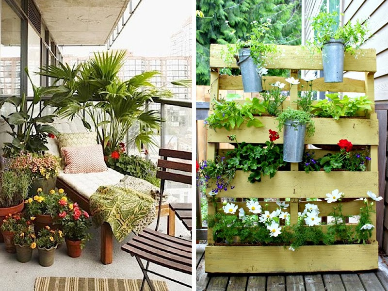 Добавить немного зелени: подруга дизайнер подсказала, как сделать мой балкон уютней и функциональней