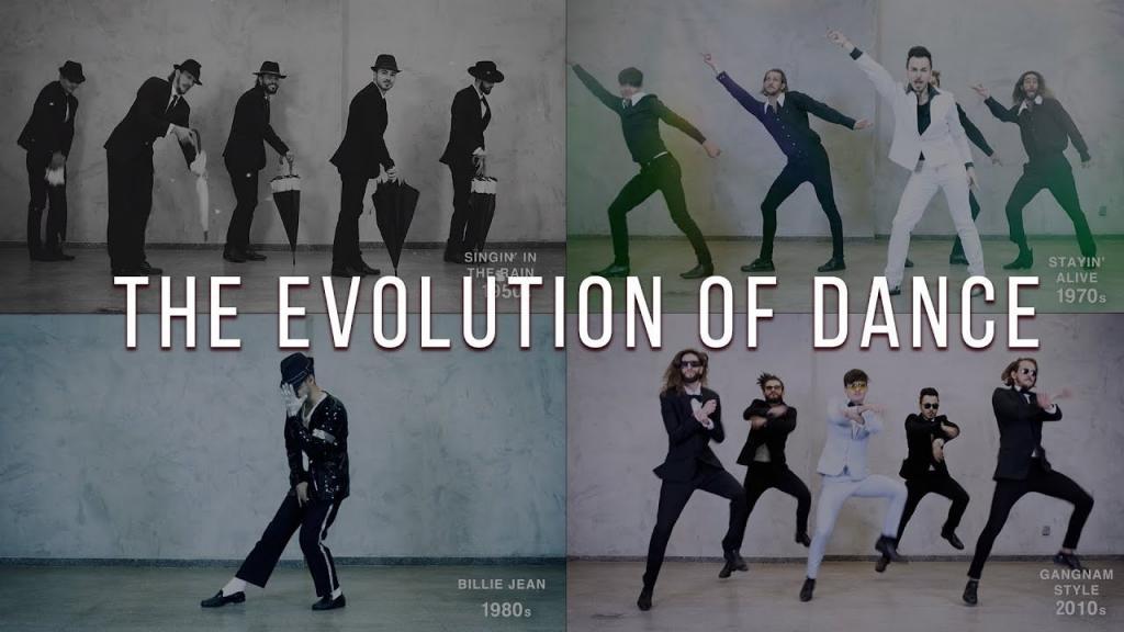 12 млн просмотров на YouTube: группа молодых парней показала эволюцию танца с 1950-х по 2019 г. (видео)