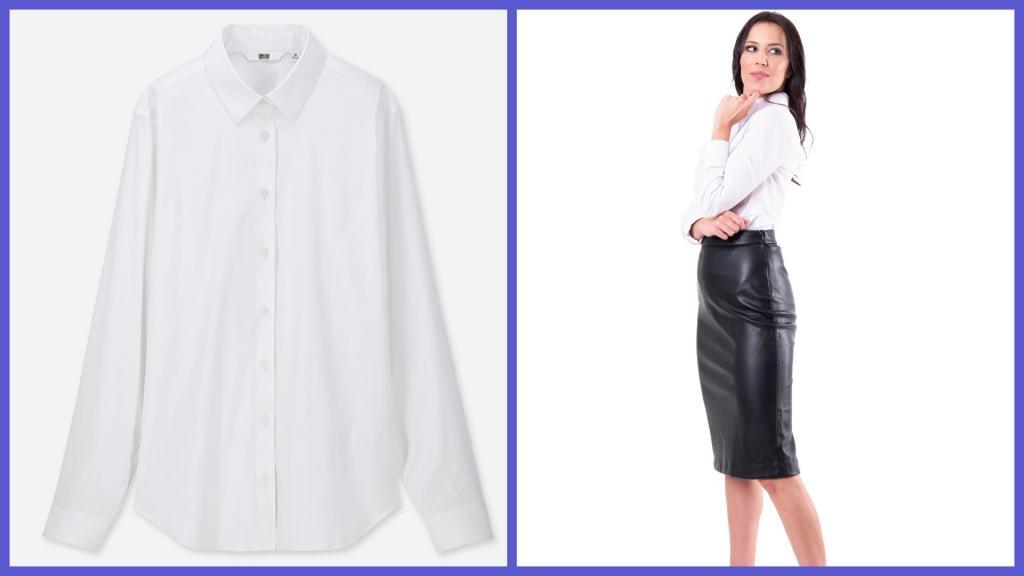 Дизайнеры показали, как модно носить белые рубашки в 2020