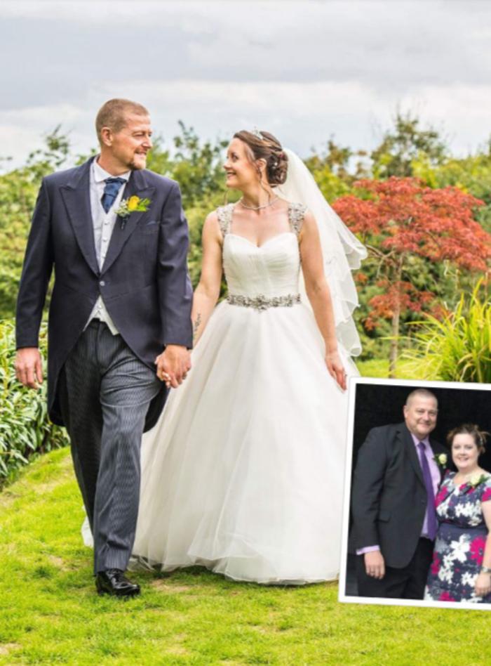 Джейсон и Кэти Саттон постоянно откладывали похудение. Решив пожениться, они сбросили 70 кг к свадьбе