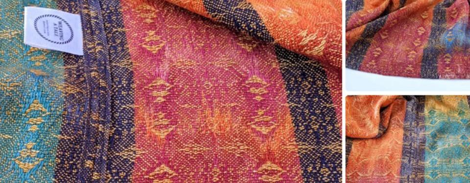 Делаем пончо за 20 минут из широкого шарфа или отреза ткани: простой способ