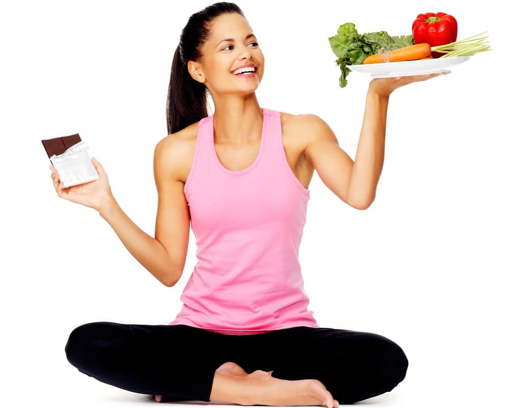Йога для желудка — 12 правил правильного питания