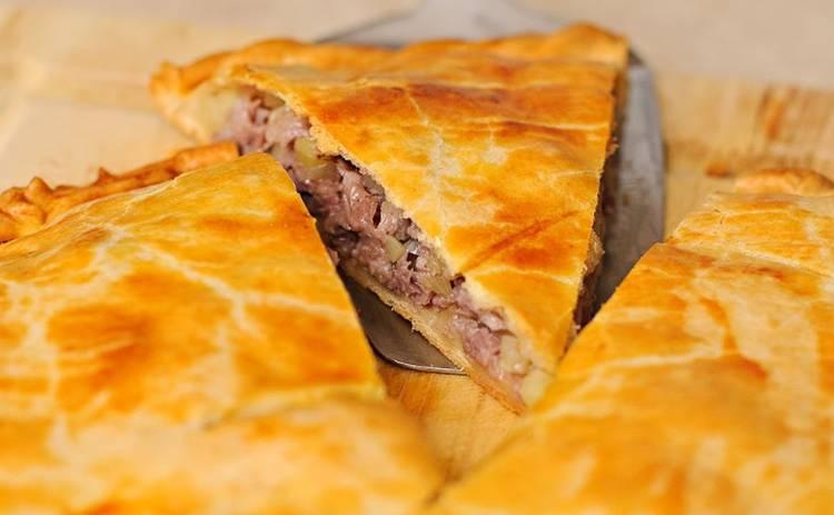 ТОП-3 мясных пирога без дрожжей