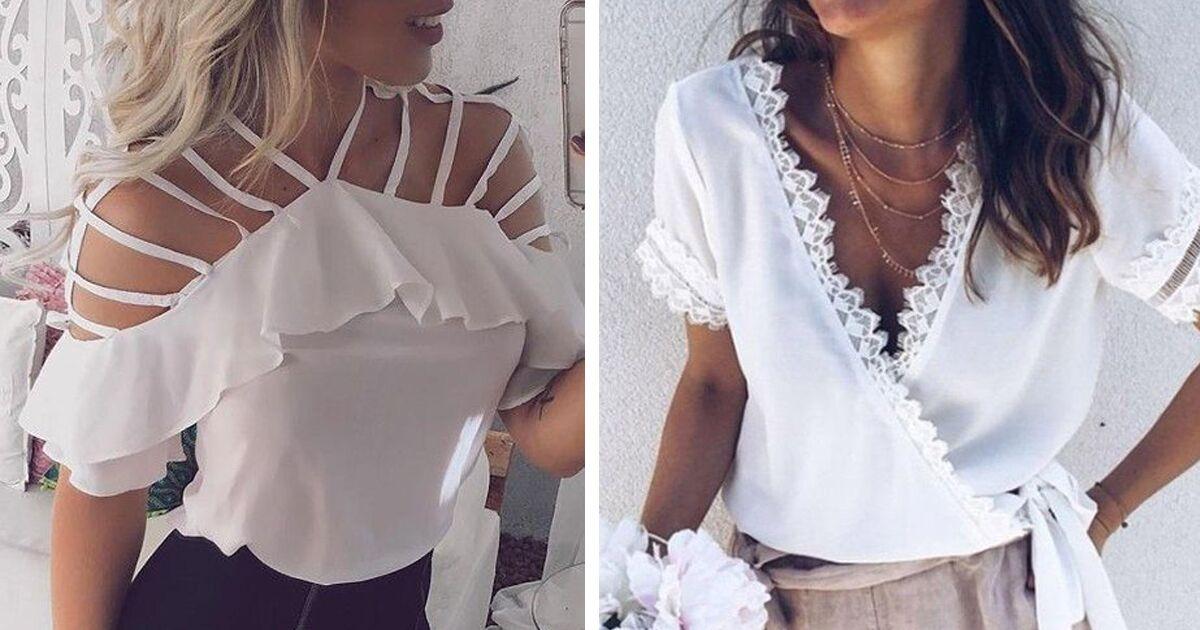 Актуальный тренд: 10 белых блузок