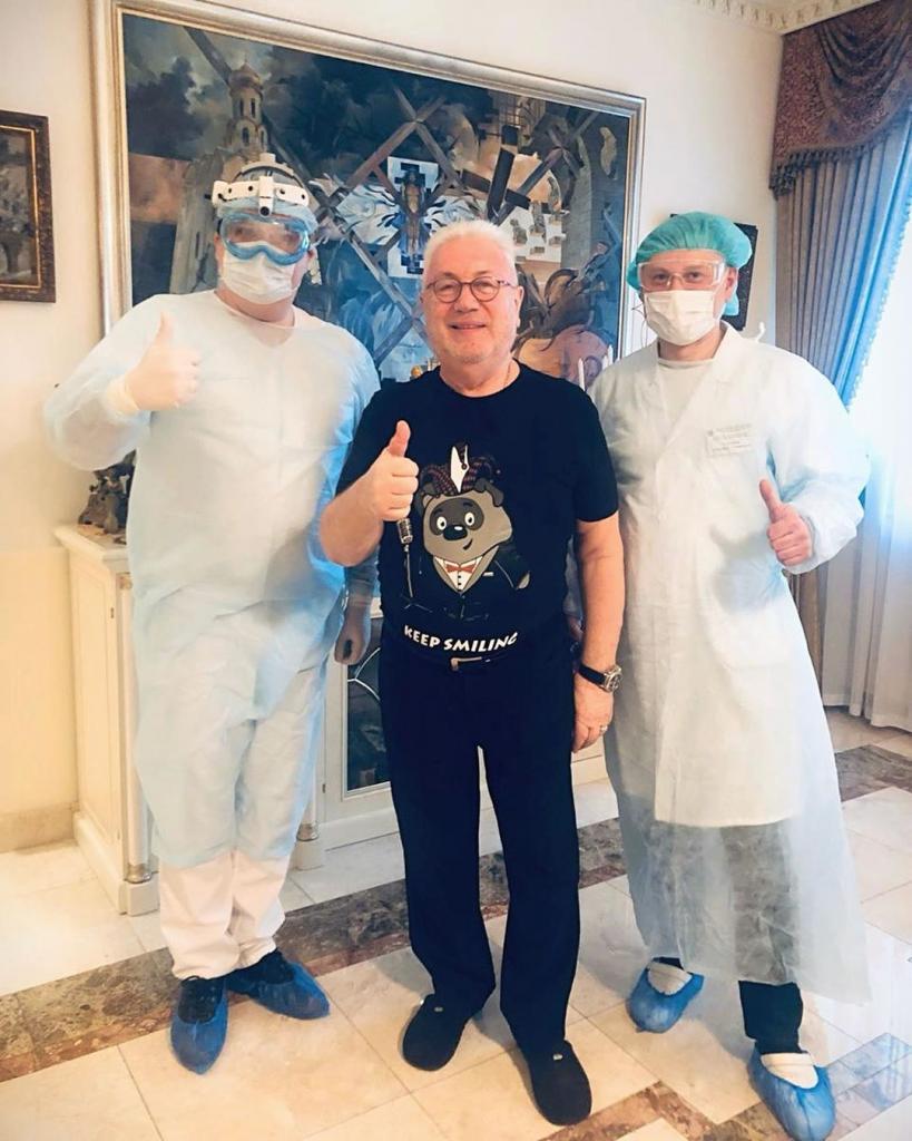 Владимир Винокур не стал скрывать результат своего теста на коронавирус