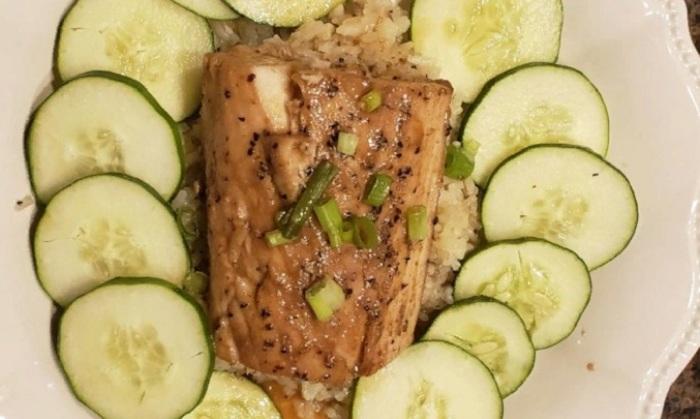 Морскую рыбу запекаю в глазури с имбирем (гости каждый раз спрашивают добавку)